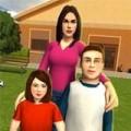 虚拟妈妈幸福的家庭3D