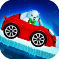 冬季仙境雪地赛车