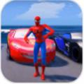 超级英雄特技赛车