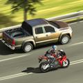 驾驶公路摩托赛车