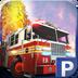 3D消防车停车场