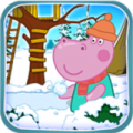 小猪佩奇冬季比赛