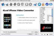 4Leaf iPhone Video Converter2.8.6 正式版