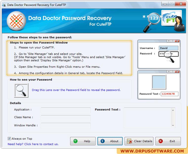 CuteFTP Password