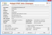 Adept PDF Info Changer2.00 正式版