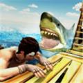 木筏求生鲸鲨猎人