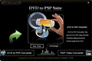 4Easysoft DVD to PSP Suite3.2.20 正式版