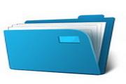 蓝色文件夹图标下载12正式版
