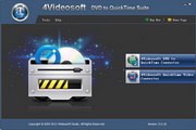 4Videosoft DVD to QuickTime Suite5.0.16 正式版
