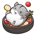 可爱的仓鼠餐
