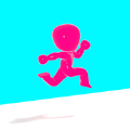Button Run 3D