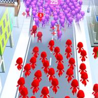 拥挤的城市游