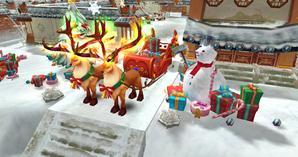 新时装新坐骑 《热血江湖手游》圣诞特别版来袭