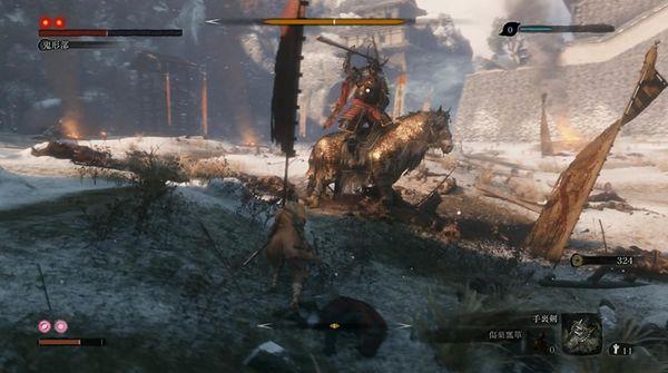 只狼Boss鬼形部攻击模式和应对方法