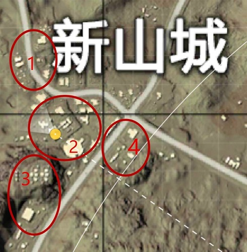 和平精英沙漠地图新山城怎么打 沙漠地图新山城打法攻略[多图]