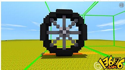 迷你世界如何建造微缩自行车?