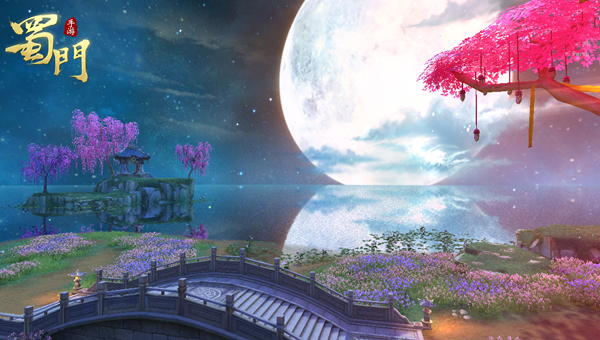 春暖花开《蜀门手游》拍照美景打卡