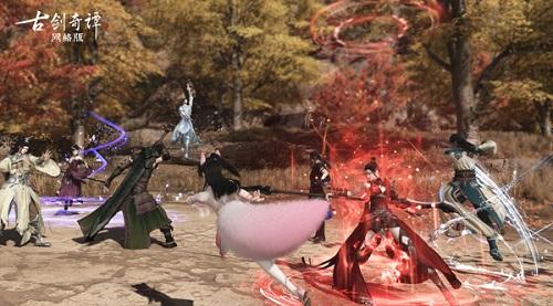 """战起来!《古剑奇谭OL》全新资料片""""梦与时空""""野外阵营PK玩法详解"""