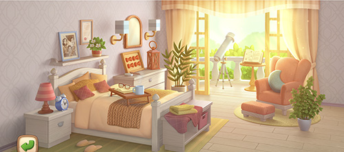 小长假宅家大作战  来《梦幻花园》打造舒适卧室