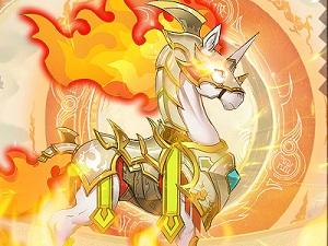 《魔法学徒的一天》火系烈焰马惊艳亮相