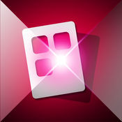 Create Awesome wallpapers / iWallpaper Maker - Crystal Light App icon Frame ( Homescreen wallpaper )