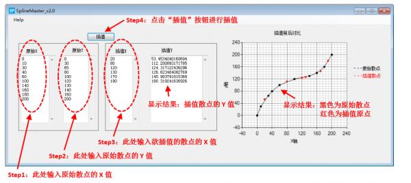 SplineMaster(三次样条插值工具)