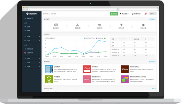 MetInfo企业建站系统