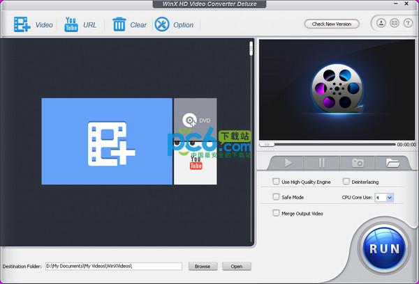 高清视频转换器(WinX HD Video Converter Deluxe)