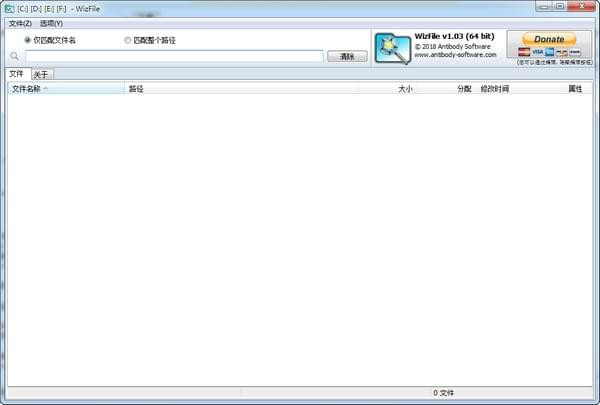 WizFile(文件快速搜索工具)