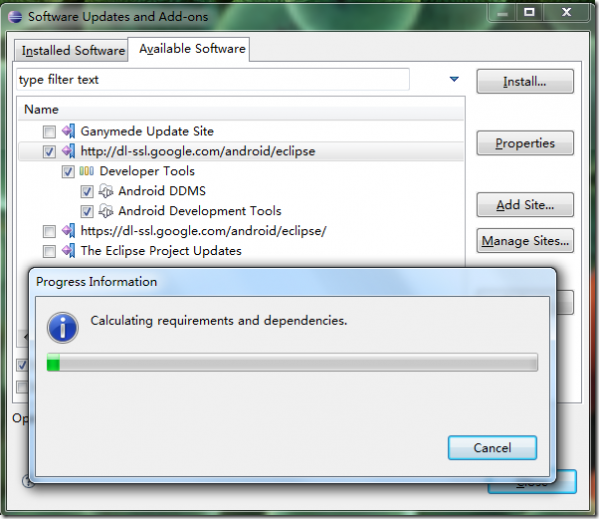 eclipse android adt