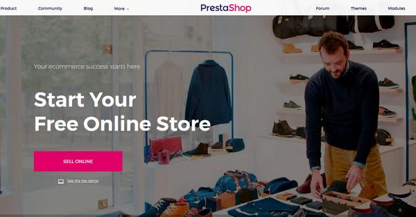 开源网店源码PrestaShop