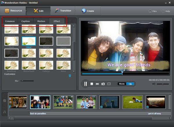 视频编辑软件【Vivideo】