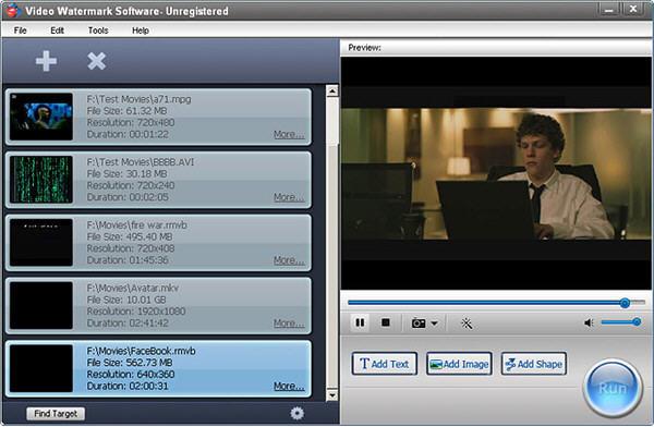 视频加水印软件(Aoao Video Watermark)
