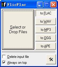 flac转mp3(FlicFlac)