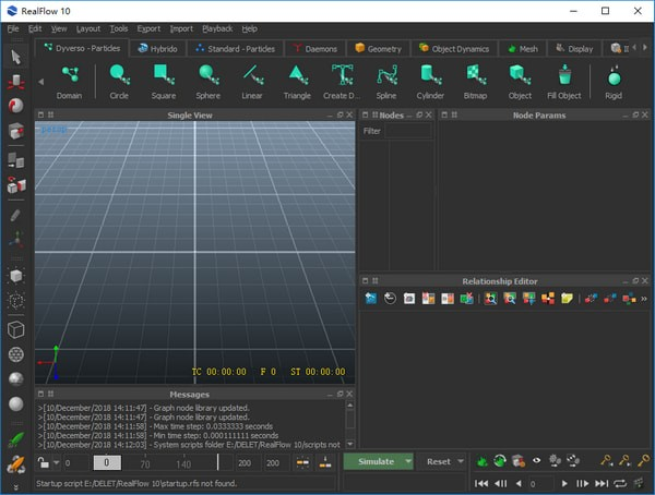 RealFlow 10(流体