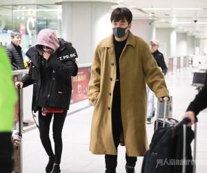 辛芷蕾和翟天临恋情疑似曝光?一同现身北京机场被拍