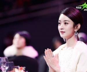 赵丽颖尖叫女神 盛装出席颁奖晚会 难道真的怀孕了?