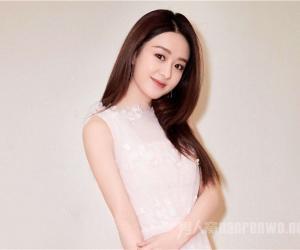 赵丽颖甜蜜示爱,新年第一天公布喜讯