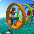水上特技达人小游戏