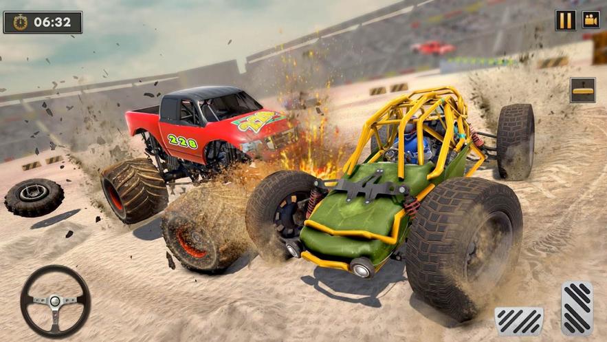 沙丘越野车撞车特技安卓版图片1