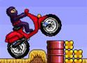 忍者骑摩托- 赛车