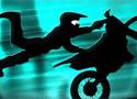 黑色影子摩托- 赛车