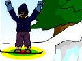 高山滑雪跳
