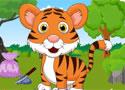 被锁住的小老虎