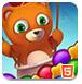 小熊泡泡龙-益智