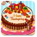感恩节的南瓜蛋糕